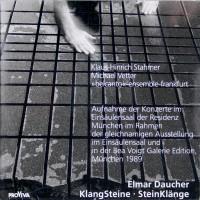 Klaus Hinrich Stahmer KlangSteine / SteinKlänge CD