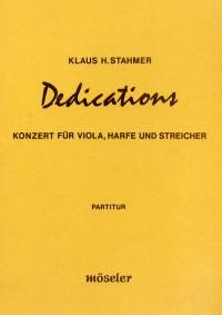 Klaus Hinrich Stahmer Dedications