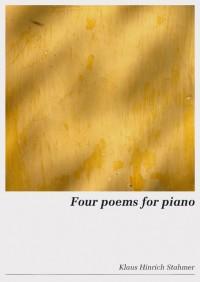 Klaus Hinrich Stahmer Four Poems