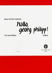 Klaus Hinrich Stahmer Hallo Georg Philipp