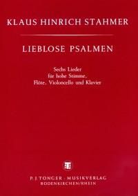 Klaus Hinrich Stahmer Lieblose Psalmen