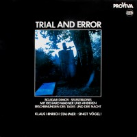 Klaus Hinrich Stahmer Trial & Error LP