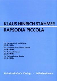 Klaus Hinrich Stahmer Rapsodia Piccola