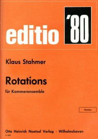 Klaus Hinrich Stahmer Rotations
