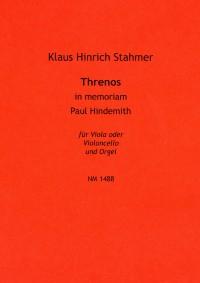 Klaus Hinrich Stahmer Threnos